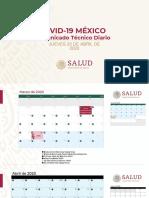 CP Salud Coronavirus COVID-19, 23abr20
