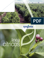 CATALOGO SINGENTA - LINEA CITRICOS