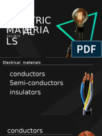 electrical materials ppt