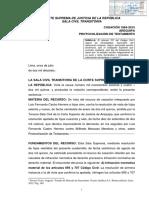 Casacion 1964-2015 Arequipa - Definen caracteristicas y requisitos del testamento olografo.pdf