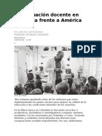La evaluación docente en Colombia frente a América Latina