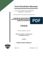 Análisis de variaciones rápidas de voltaje en sistemas de sub-transmisión y redes de distribución