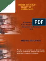 MEDIOS DE CULTIVO SELECTIVOS Y DIFERENCIALES