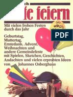 Praxisbuch - Feste feiern mit Pfiff - Band 1