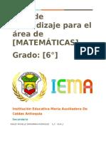 Matematicas Guía 6 michelle-convertido1