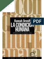 Arendt_La condicion humana (Capítulo 2_Selección).pdf
