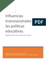 influencias transnacionales en políticas educativas