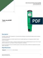 HI 98121 Medidor de pH_ORP_ T