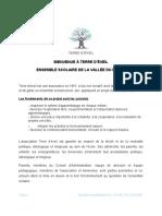 Charte TE ensemble scolaire de la vallée du Madet