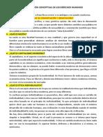 PREGUNTAS RESUELTAS 2 - DELIMITACIÓN CONCEPTUAL DE LOS DERECHOS HUMANOS
