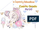 Evelin 4° Calendario Mayo