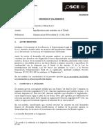 124-18 - TD 13212742 PROYECTOS Y OBRAS S.A.C. impedimentos literal c) e i)