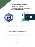 PROYECTO DETECCION DE PRESENCIAS EN UN VEHICULO PESADO