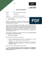010-20 - MUN DIST CHORRILLOS - Impedimentos - Exp. 3041 (T.D. 16300782 - 16296596)