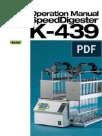 K-439 Operation Manual a en Low