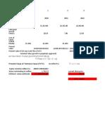 DCF Model Of TCS (kajal)
