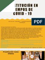 Prostitución en Tiempos de COVID - 19