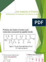 Activity 7 - Quantitative Analysis of Protein - Post lab..pptx
