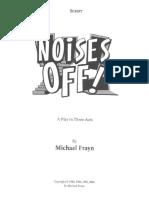 Noises Off Script- Michael Frayn
