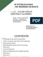 Sylow Groups