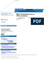 Medir Temperatura Con Un RTD o Termistor - Developer Zone - National Instrum