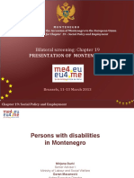 9 Persons with disabilities