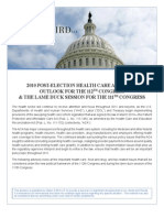 Obamacare Advisory for 112th Congress Nov 2010