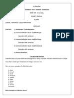 Class V - Eng - Module 4 - Day 4 - Collective Nouns