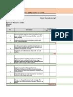 GMP Checklist.xlsx