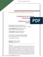 La Gerencia en el Contexto Actual Venezolano.pdf