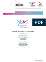 Funding and Publicity Guidelines