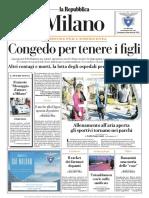 La Repubblica Milano 05 Marzo 2020