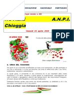 Notiziario del comitato ANPI di Chioggia n. 56