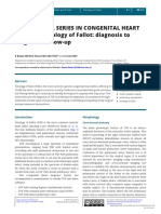 [20550464 - Echo Research and Practice] EDUCATIONAL SERIES IN CONGENITAL HEART DISEASE_ Tetralogy of Fallot_ diagnosis to long-term follow-up