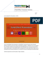 pinoybix.org-Boylestad MCQ in Field Effect Transistor Devices