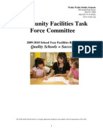 Cftf 2010 Facilities Plan Report