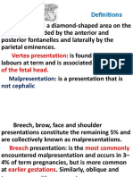Fetal malpresentation