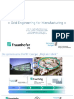 Grid Engineering for Manufacturing