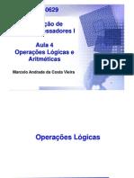 Aula 4 - Operacoes Logicas e Aritmeticas