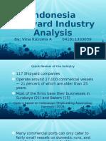 Strategic management, Indonesia's Shipyard Industry Analysis