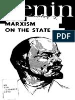 V. I. Lenin, Marxism on the State