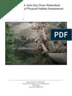 North Fork John Day River Watershed Sediment and Physical Habitat Assessment Demeter Design