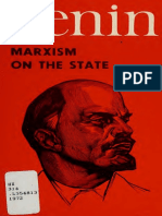 V. I. Lenin, Marxism on the State. Preparatory Material for the Book 'the State and Revolution', Moscow, Progress Publishers, 1972. 133 Pp.