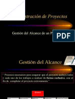Project Charter Alcance