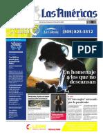 DIARIO LAS AMÉRICAS Edición impresa del 24 al 30 de abril de 2020