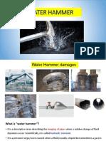 4. Water Hammer