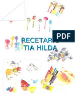 Recetario Tia Hilda