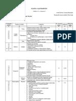 GIMNAZIU_Planul calendaristic semestrial_educatie fizica si sport
