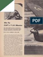 CAP Beechcraft T-34 Story (1966)