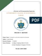 low pass filter report